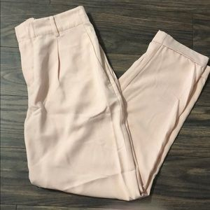 H&M pink trousers